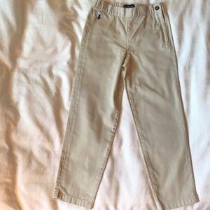 Ralph Lauren beige cotton khaki pants